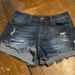 Nice jean shorts hardly warn!